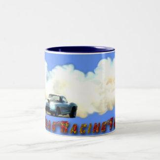 Corvette Drag-Racing Fan Drinking Mug