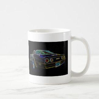 Corvette el an o 80 taza clásica