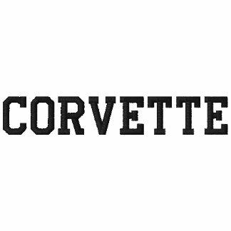 CORVETTE EMBROIDERED HOODED SWEATSHIRT