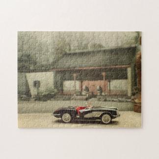 Corvette en rompecabezas asiático del patio