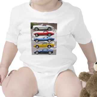 Corvette Generations Creeper