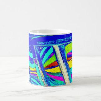 Corvette Grand Sport Beachball Reflection Coffee Mugs