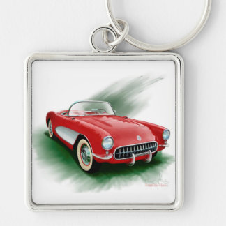 Corvette keychain