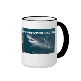 corvette mako shark mug