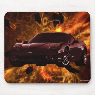 Corvette Mousepad Alfombrilla De Ratones