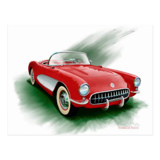 Corvette Postcard