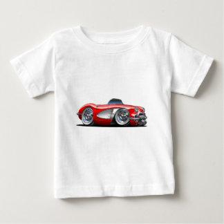 Corvette Red Convertible Baby T-Shirt