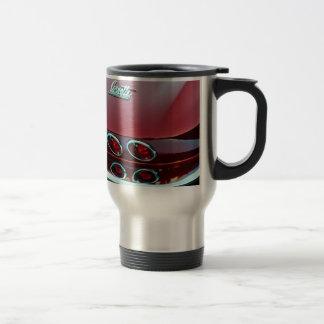 Corvette sting ray tail lights travel mug