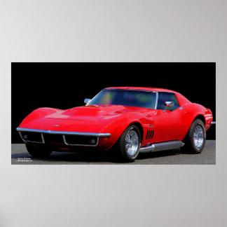 CORVETTE: THE AMERICAN SPORTS CAR POSTERS