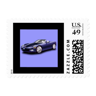 Corvette US Postage Stamp