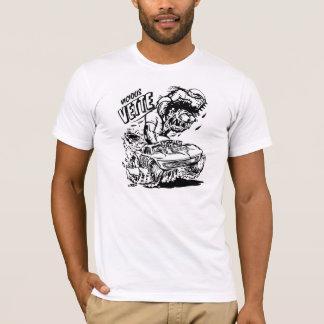 Corvette Vintage Classic Comic B&W G.D. T-Shirt