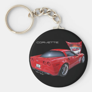 Corvette with Airbrush Key Chains