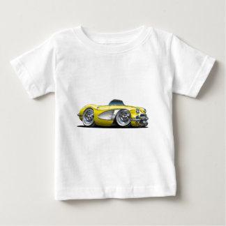 Corvette Yellow Convertible Baby T-Shirt
