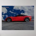 Corvette ZR1 de Chevy Posters