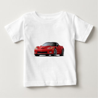 Corvette ZR1 Red Car Baby T-Shirt