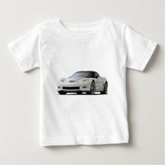 Corvette ZR1 White Car Baby T-Shirt