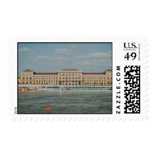 Corvinus University of Budapest Stamp