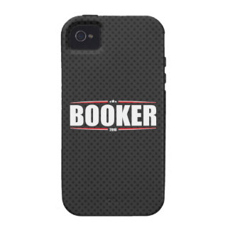 Cory Booker 2016 Stars Stripes - Black iPhone 4 Cases