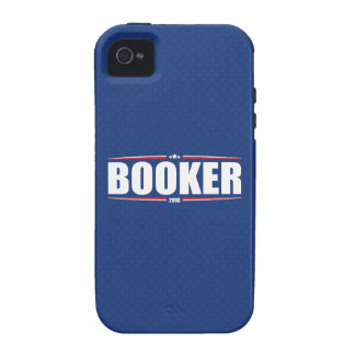 Cory Booker 2016 Stars Stripes - Blue iPhone 4/4S Case