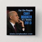 Cory Booker for Senate Button