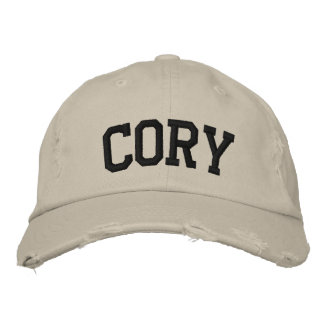 Cory Embroidered Hat Embroidered Hats