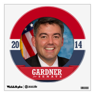 CORY GARDNER CAMPAIGN WALL STICKERS