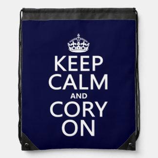 Cory On Drawstring Backpacks