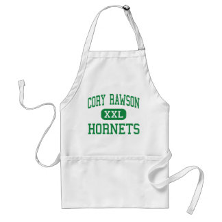 Cory Rawson - Hornets - High School - Rawson Ohio Adult Apron
