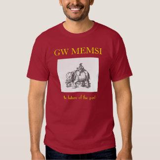 Coryate, GW MEMSI, the future of the past T-shirts