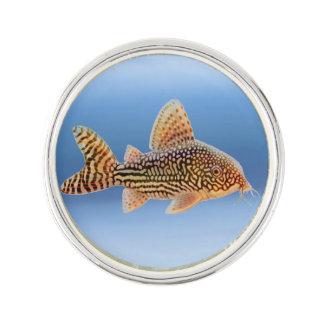 Corydoras Sterbai Catfish Lapel Pin
