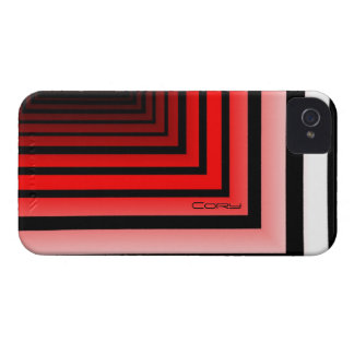 Cory's Black and Red iPhone 4 cover