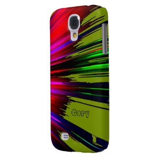 Cory's Red and Green Samsung Galaxy s4 case
