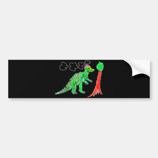Corythosaurus Bumper Sticker