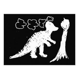 Corythosaurus Invitaciones Personalizada