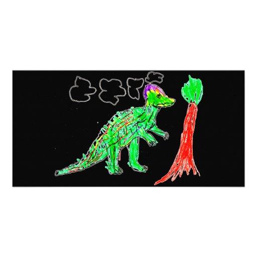 Corythosaurus Tarjetas Fotográficas
