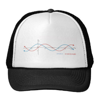 cos curves diagram mathematics sin sinusoid trucker hats