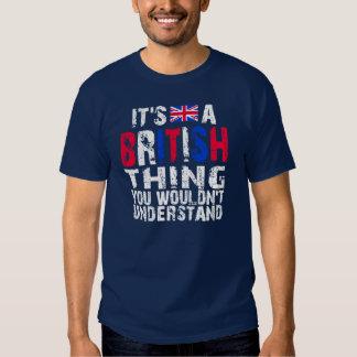 Cosa británica poleras