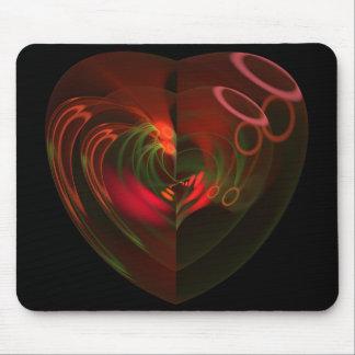 Cosa de corazón tapetes de ratón