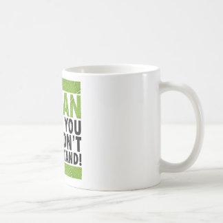 Cosa del vegano tazas de café