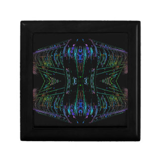 Cosa futurista del arte abstracto del futurismo caja de joyas