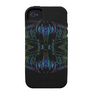 Cosa futurista del arte abstracto del futurismo vibe iPhone 4 carcasa