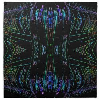 Cosa futurista del arte abstracto del futurismo servilleta