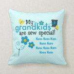 Cosa la almohada de tiro personalizada los Grandki