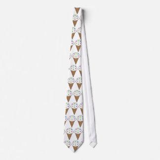 Cosa los botones en lazo del helado corbata personalizada