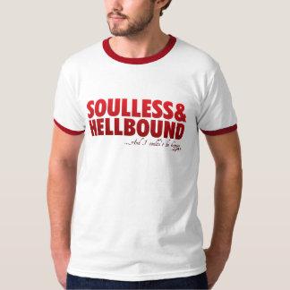 Cosa mal encajada de Hellbound Camisas