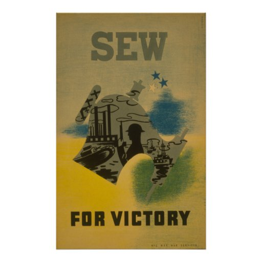 Cosa para la victoria - poster de WWII