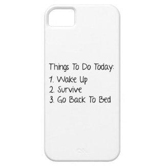 Cosas a hacer hoy iPhone 5 coberturas