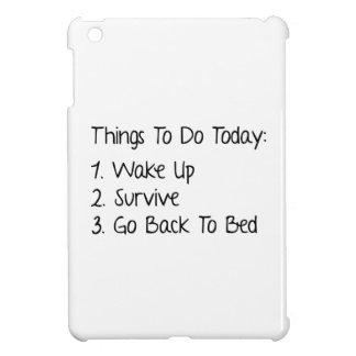 Cosas a hacer hoy