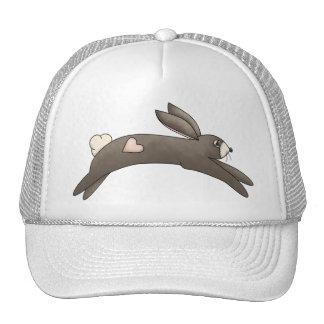 Cosas de la primavera · Conejito gris con el Gorro