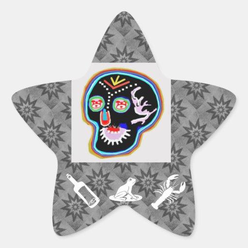 Cosas de niños: Rana amistosa sonriente del Calcomania Cuadrada Personalizada